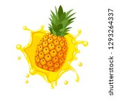colorful fruit design....   Shutterstock .eps vector #1293264337