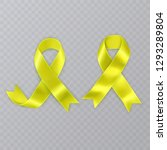 the symbol of sarcoma cancer... | Shutterstock .eps vector #1293289804