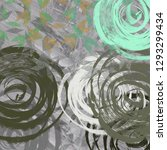 2d illustration. concrete flat ... | Shutterstock . vector #1293299434