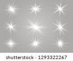 star explodes on transparent... | Shutterstock .eps vector #1293322267