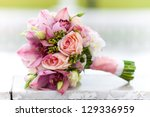 Wedding Bouquet  Flowers  Rose...