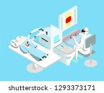 vr surgery vector illustration | Shutterstock .eps vector #1293373171