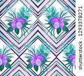 watercolor seamless pattern... | Shutterstock . vector #1293378271