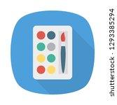 palette   color  brush  | Shutterstock .eps vector #1293385294