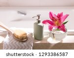 relax at home luxury bathroom... | Shutterstock . vector #1293386587
