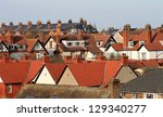 Red Tiled Houses In City ...