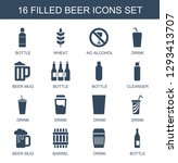 beer icons. trendy 16 beer... | Shutterstock .eps vector #1293413707