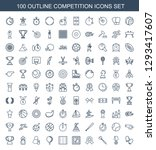 competition icons. trendy 100... | Shutterstock .eps vector #1293417607