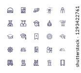 editable 25 wisdom icons for... | Shutterstock .eps vector #1293422761