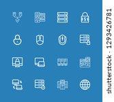 editable 16 www icons for web...   Shutterstock .eps vector #1293426781