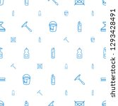 cleaning icons pattern seamless ... | Shutterstock .eps vector #1293428491