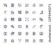 editable 36 www icons for web...   Shutterstock .eps vector #1293440371