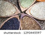various miscellaneous grains | Shutterstock . vector #1293445597