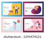 commerce sale offer promotion... | Shutterstock .eps vector #1293474121