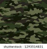 seamless camouflage pattern... | Shutterstock .eps vector #1293514831