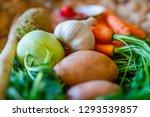 carrots  celery  turnip  chili...   Shutterstock . vector #1293539857