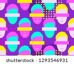 seamless pattern of male faces...   Shutterstock .eps vector #1293546931
