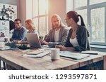 mutual understanding. group of... | Shutterstock . vector #1293597871