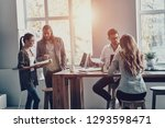 working day. group of young...   Shutterstock . vector #1293598471