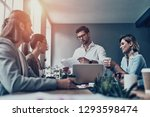 team working together. group of ... | Shutterstock . vector #1293598474