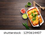 traditional mexican dish... | Shutterstock . vector #1293614407