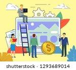 web developers  website... | Shutterstock .eps vector #1293689014