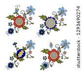 traditional  modern polish  ... | Shutterstock .eps vector #1293690274