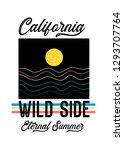 california wild side eternal... | Shutterstock .eps vector #1293707764