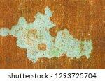 texture backgrounds old paint... | Shutterstock . vector #1293725704