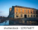Abandoned Industrial Plant At...