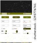 dark green vector style guide...