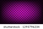 quilted pink background. golden ... | Shutterstock . vector #1293796234