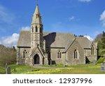 underbarrow church with spring...