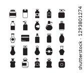 bottle icons  beverage bottle... | Shutterstock .eps vector #1293801274
