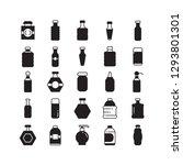 bottle icons  beverage bottle... | Shutterstock .eps vector #1293801301
