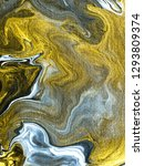 gold marble abstract hand... | Shutterstock . vector #1293809374