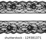 Lace Background  Black On White