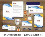 corporate business  identity... | Shutterstock .eps vector #1293842854