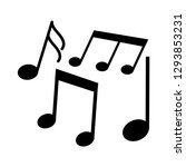 music notes  song  melody icon... | Shutterstock .eps vector #1293853231