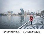 portrait cute asian woman with... | Shutterstock . vector #1293859321