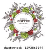 round banner template with...   Shutterstock .eps vector #1293869194