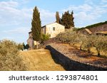 mediterranean country house in... | Shutterstock . vector #1293874801