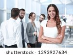 portrait of a young business... | Shutterstock . vector #1293927634