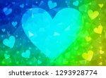 light blue  green vector ... | Shutterstock .eps vector #1293928774