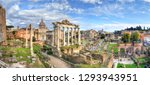 Ruins Of The Roman Forum At...