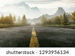 street leading into the... | Shutterstock . vector #1293956134