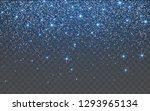 blue glitter sparkle on a... | Shutterstock .eps vector #1293965134