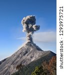 close view of fuego volcano...   Shutterstock . vector #1293975721