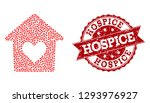 mosaic lovely house composed... | Shutterstock .eps vector #1293976927