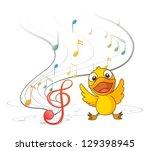 Illustration Of The Singing...